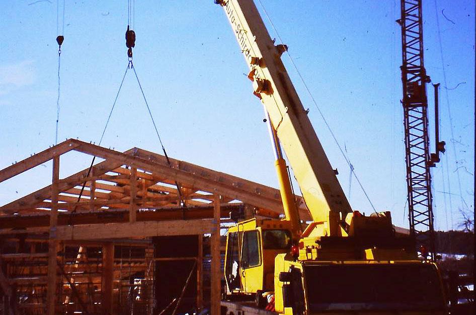 2006 Bau der Halle