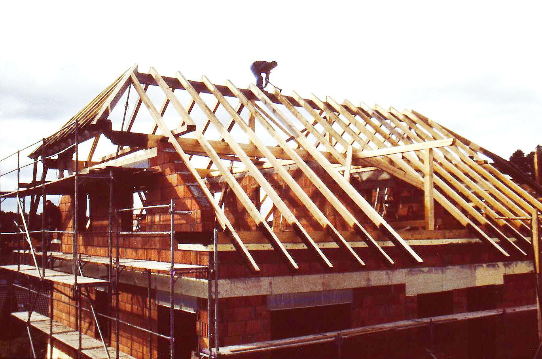 1997 Bau der Werkstatt
